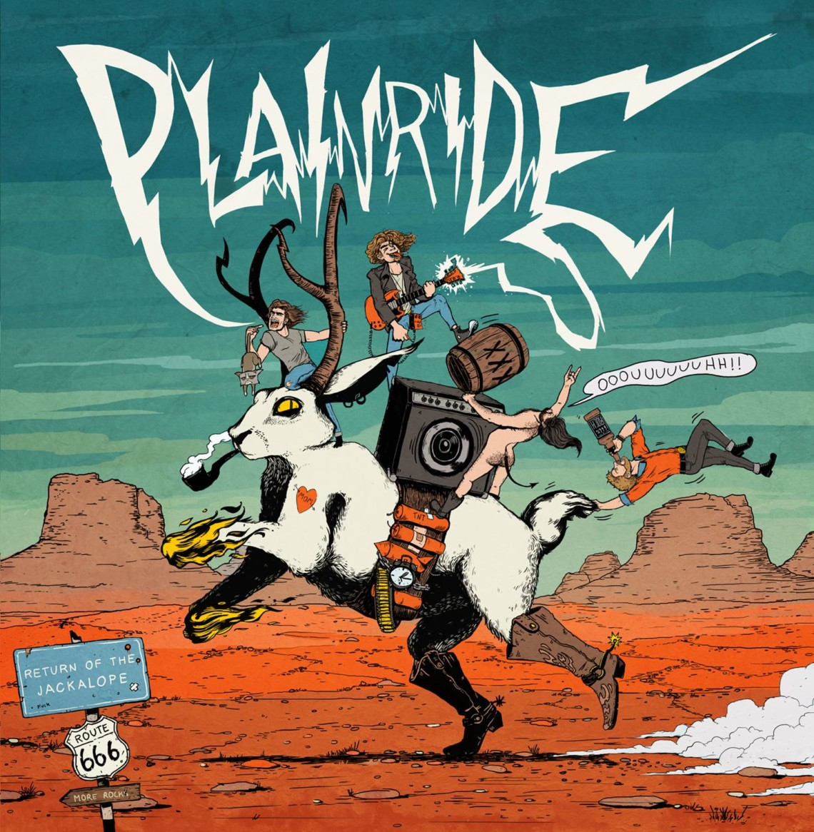 Plainride Return of The Jackalope