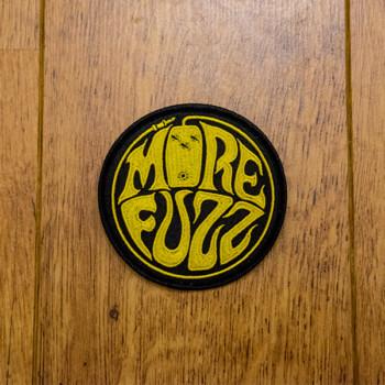 More Fuzz Logo Patch