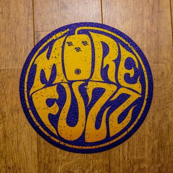 More Fuzz Logo Slipmat