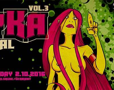 Giveaway : Win a 3-Day Ticket for PsyKA Festival Vol. 3 in Karlsruhe, Germany