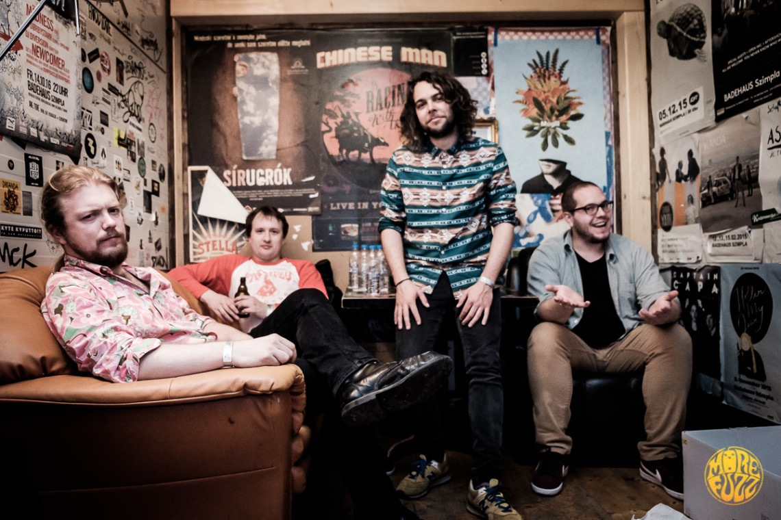 Wight Interview @ DesertFest Berlin : More Funk, More Groove, More 'Shrooms !
