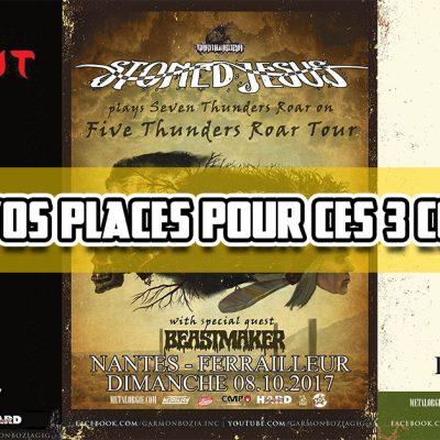French Only – Concours places de concert pour 3 dates de Garmonbozia à Nantes & Rennes
