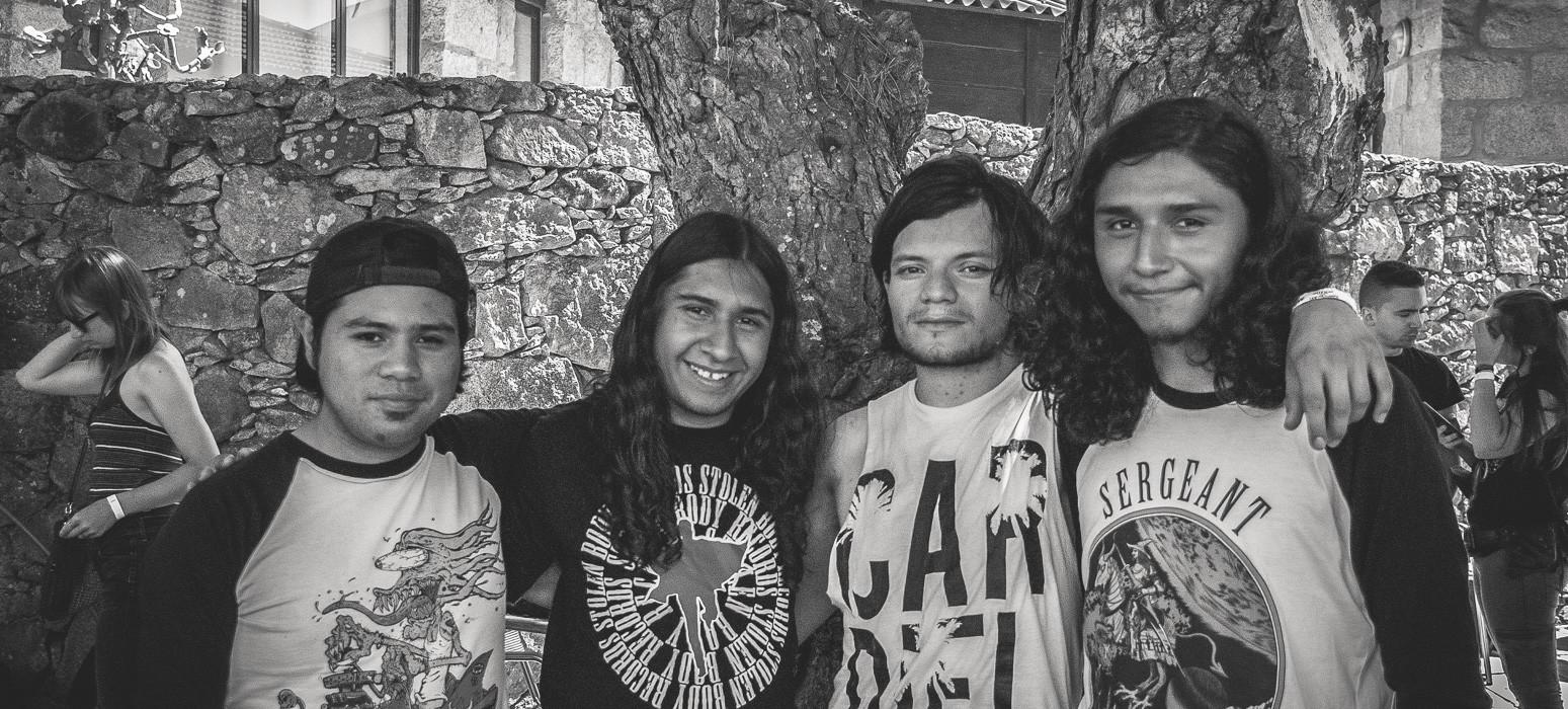 Interview with Vinnum Sabbathi @ Sonic Blast Moledo 2017