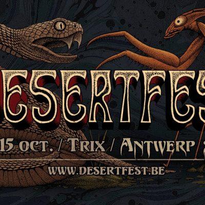 DesertFest Belgium 2017 Playlist