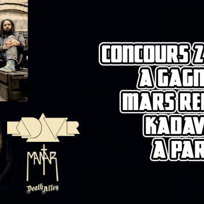 French Only – Concours places à gagner Kadavar + Mars Red Sky à Paris !