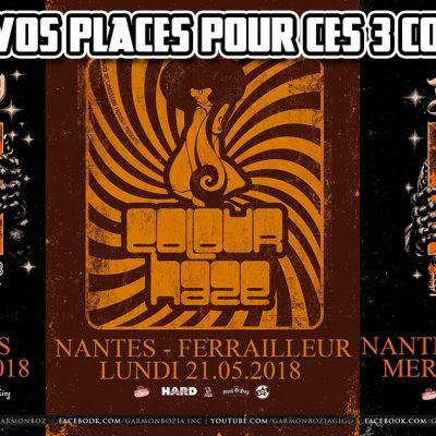 French Only – Concours places de concert pour 3 dates de Garmonbozia à Nantes & Paris