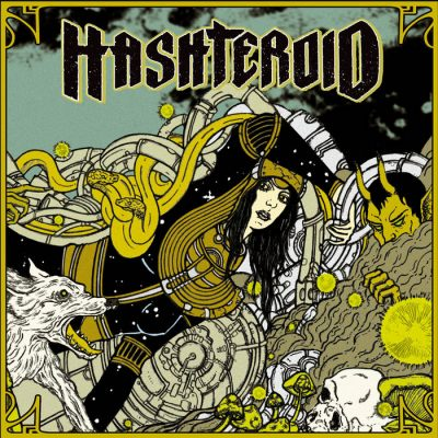Review & Album Premiere : Hashteroid – Selftitled