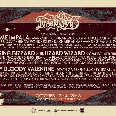Fuzzy Giveaway : 2 tickets for the Desert Daze Festival, California