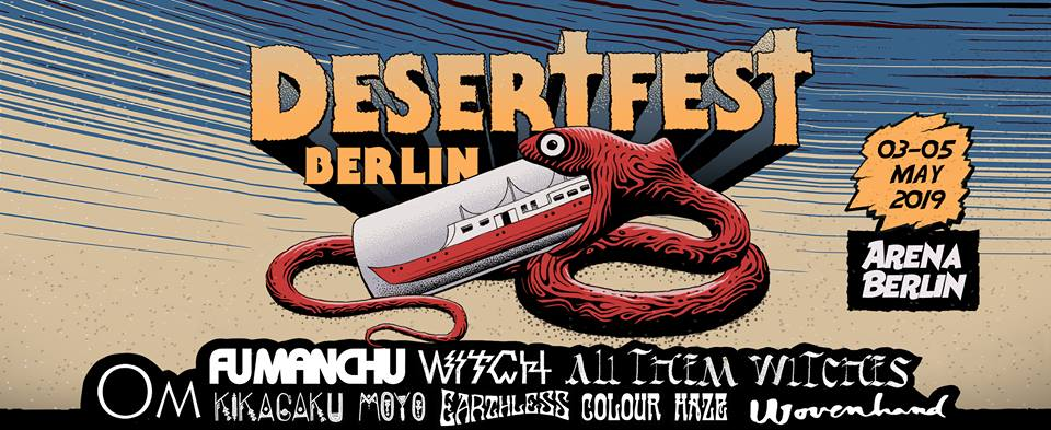 DesertFest Berlin 2019 Playlists