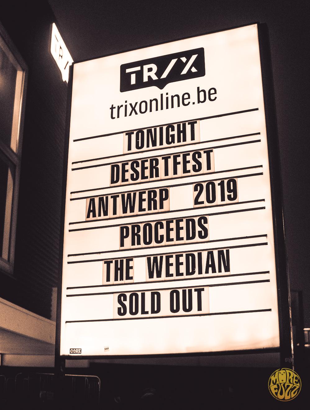 DesertFest Belgium 2019 Report
