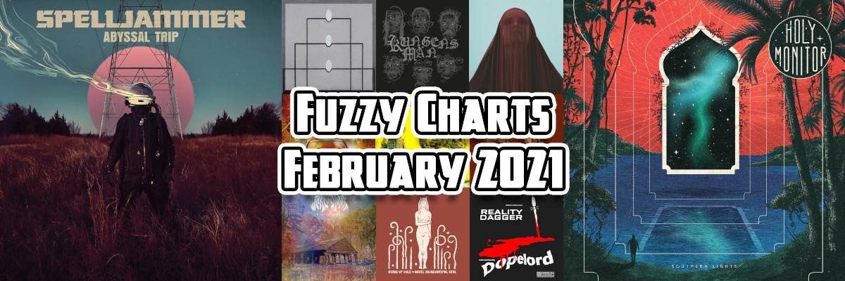 Fuzzy Charts: Best albums of February 2021