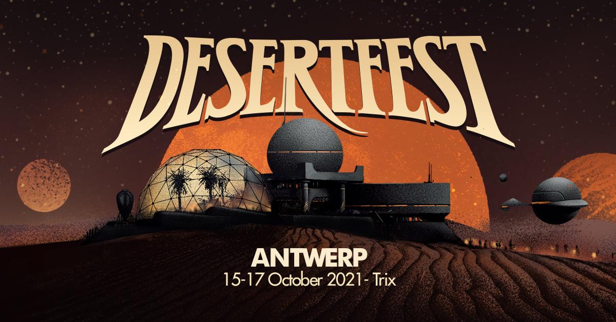 DesertFest Belgium 2021 Playlist